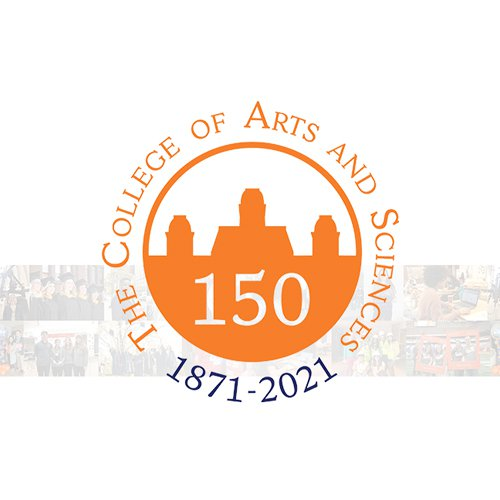 College of Arts and Sciences 150th anniversary logo