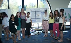 Student Presenters at 2013 Poster Session
