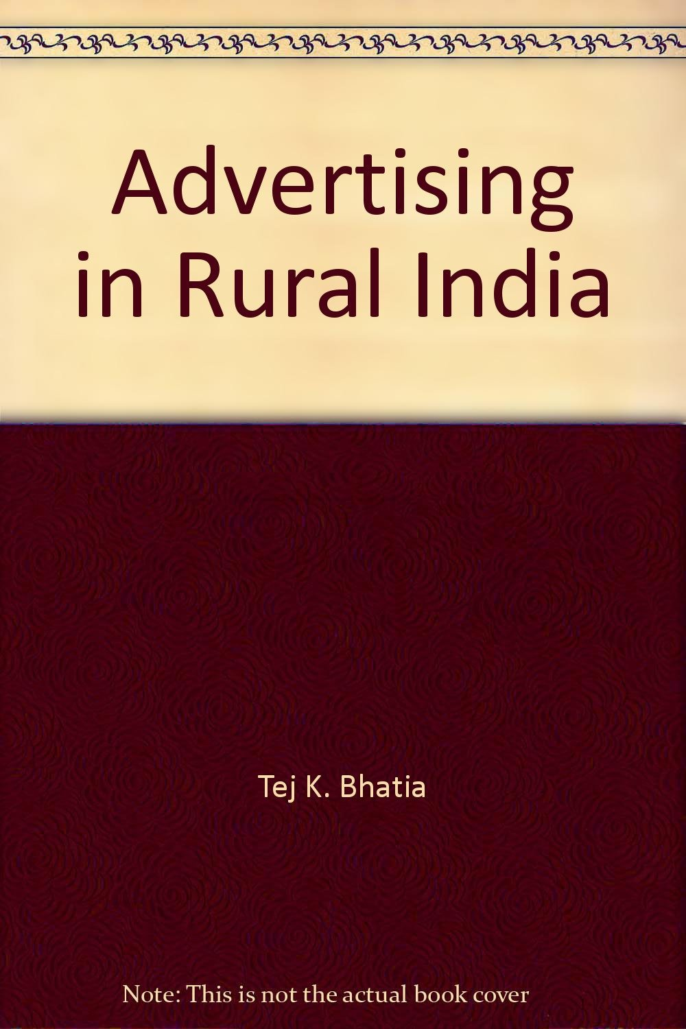 Advertising & Marketing in Rural India: Language, Culture, and Communication
