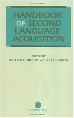 Handbook of Second Language Acquisition 1st Edition