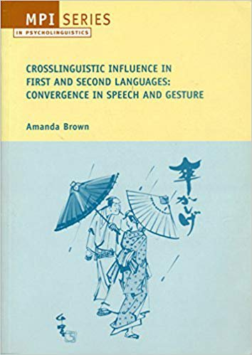 Crosslinguistic Influence in First and Second Languages: Convergence in Speech and Gesture