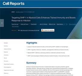 Targeting SHIP-1 in Myeloid Cells Enhances Trained Immunity and Boosts Response to Infection.