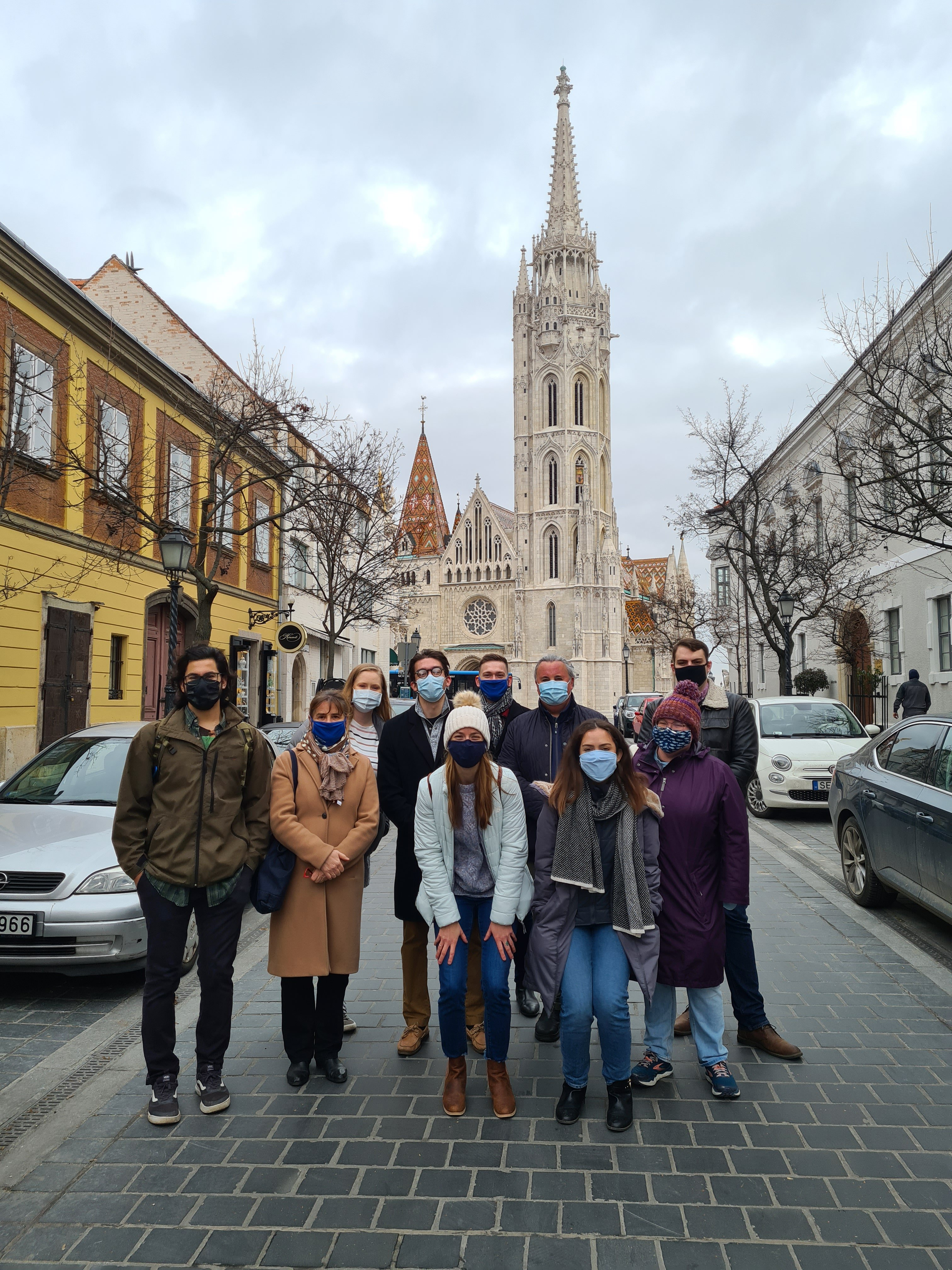 Group of Fulbright Scholars in Hungary