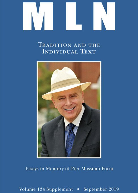 Tradition and the Individual Text. Essays in Memory of Pier Massimo Forni.