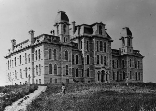 Hall of Languages early photo.