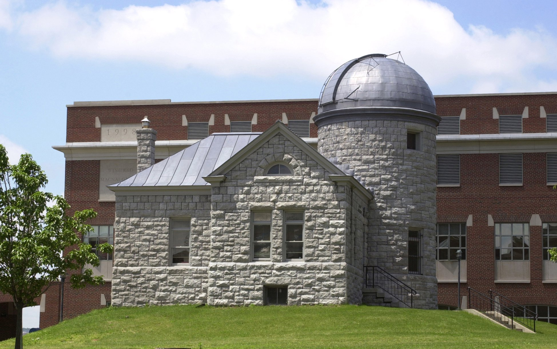 exterior of the Holden Observatory