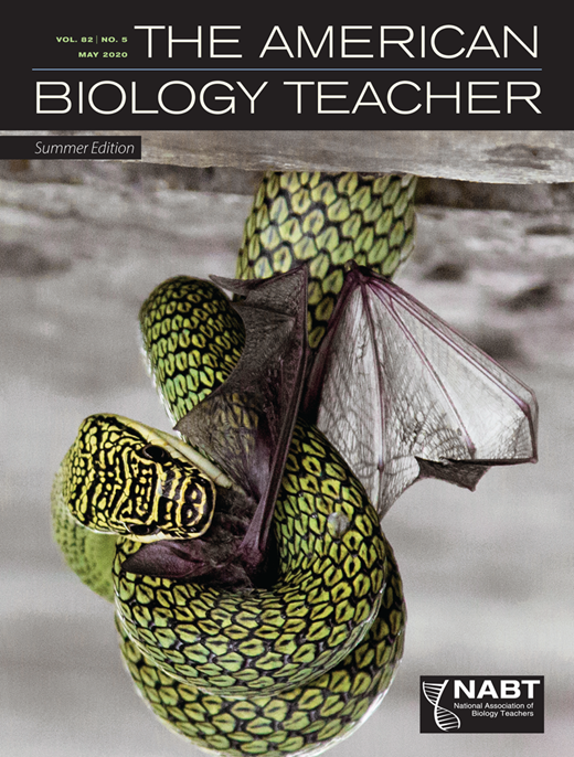 May 2020 American Biology Teacher Cover