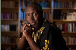 "Ngũgĩ wa Thiong'o, a UC Irvine professor who collaborated with Mũgo on the award-winning play, ""The Trial of Dedan Kimathi,"" is among the keynote speakers."