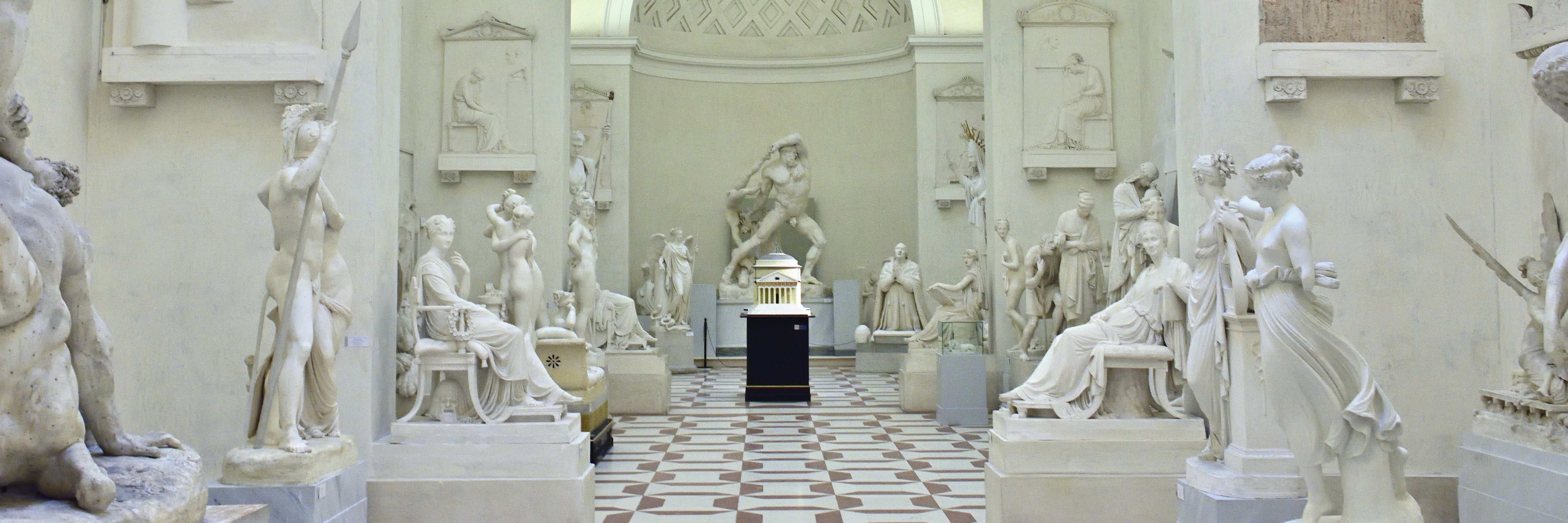 sculptures in Museum Gipsoteca Antonio Canova, Via Canova, Possagno, Province of Treviso, Italy