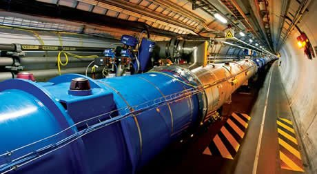 Large Hadron Collider (Photo courtesy of CERN)