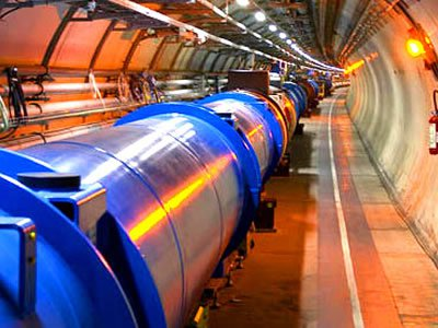 CERN's Large Hadron Collider (LHC) circulates beams of protons at the speed of light, before smashing them together. Scientists study the resultant debris for clues about the origins of the universe.