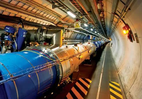 The Large Hadron Collider is the world's largest, most powerful particle accelerator. (CERN)