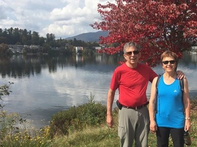 Stone and Marina Artuso in Lake Placid